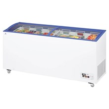 Arcaboa ACL Range Sliding Curved Glass Lid Chest Freezer