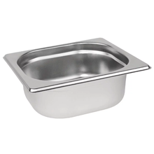 Stainless Steel 1/6 Gastronorm Pan 65mm | Gastronorm Pan