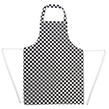 Whites Chef Clothing A275 Bib Apron Polycotton Black White Check 1672 also  on over the range microwave oven display stand