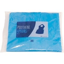A305 100 x Disposable Aprons (Blue)