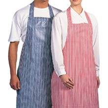 A580 100% Waterproof Nylon Apron (Blue Stripe)