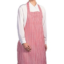 A581 100% Waterproof Nylon Apron (Red Stripe)