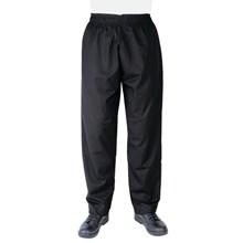 Whites Unisex Vegas Chefs Trousers Black A582-L