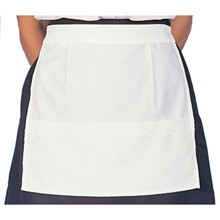 White Waitress Apron