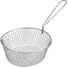 Commercial Deep Fat Fryer Frying Basket Chip Fish Takeaway 340x165x150mm   YTD-FRYINGBASKET