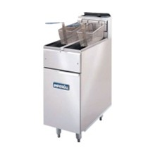 CB098-N Twin - Natural Slimline Gas Fryers