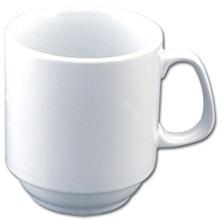 12x Olympia CB461 10oz Mug Stacking Mugs
