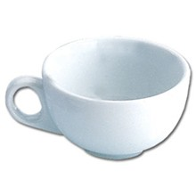 12x Olympia CB462 10oz Cup Capuccino Cups & Saucers