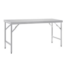 Vogue CB907 Stainless Steel Kitchen Corner Table