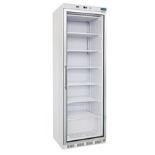 Polar CB921 Glass Door Display Freezer 365Ltr