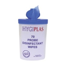 12x Hygiplas CC196 70 Wipe Pocket Pack Probe and Surface Wipes Utensils