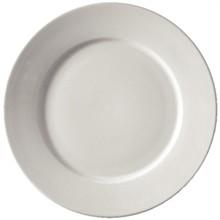 "12x Athena 10"" CC209 Wide Rimmed Plates Crockery"