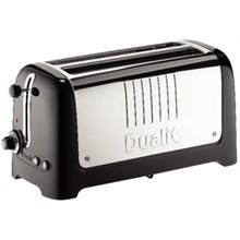 Dualit CC802 4 Slot Black Lite Toaster