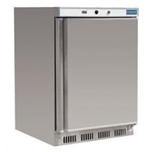 Polar CD080 Undercounter Stainlesss Steel Fridge 150 Litre