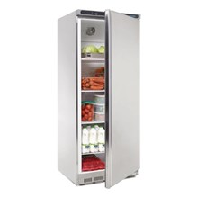 Polar CD084 Single Door Fridge Stainless Steel 600 Ltr
