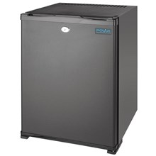Polar CE322 Silent Hotel Room Fridge Black 30Ltr