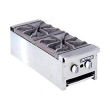 CE363-N 2 Burner Natural Restaurant Series Gas Boiling Tables