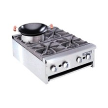 CE364-N 4 Burner Natural Restaurant Series Gas Boiling Tables