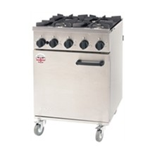 CE369-N Burco Natural 4 Burner Titan Gas Ranges