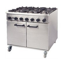 CE667-N Burco Natural 6 Burner Titan Gas Ranges