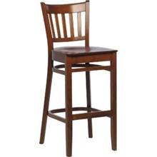 2x Bolera CD194 Walnut Bar Back High Stools Furniture