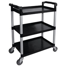 Vogue CF101 Polypropylene Mobile Trolley (Black)