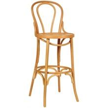 2x Bolera CF142 Natural Bentwood Bistro High Stool Furniture
