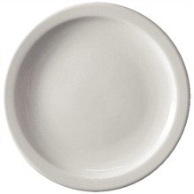 "12 x Athena CF363 9""/230mm Narrow Rimmed Plates Crockery"