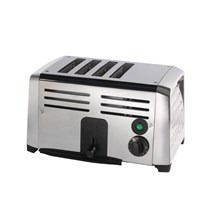 Burco CF412 Commercial 4 Slice Toaster TSSL14/STA