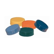 6x CF950 Pack of 6 Coloured End Caps FIFO Sauce Dispensers Utensils