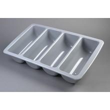 Genware CB1-1 4 Division Plastic Cutlery Tray