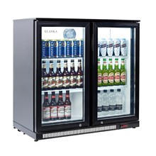 Artikcold Alaska BBC-92S Double Sliding Back Bar Cooler
