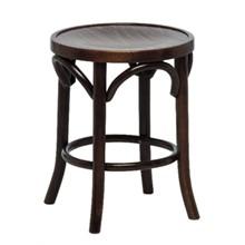 2x Bolera DL462 Walnut Finish Low Pub Stools Furniture