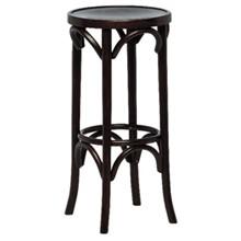 2x Bolera DL463 Walnut Finish High Pub Stool Furniture