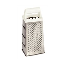 "Vogue DM021 4 Way 9"" 4 & 6 Way Box Graters Stainless Steel Utensils"