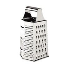 "Vogue DM022 6 Way 10"" 4 & 6 Way Box Graters Stainless Steel Utensils"