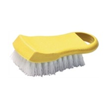Hygiplas DM044 Yellow (Cooked Meat) Chopping Board Brushes Utensils