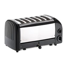 Dualit bread toaster 6 slice black 60145