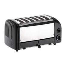Dualit bread toaster 6 slice black 60145