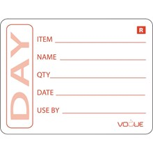 Vogue E148 Removable Prepped Food Labels