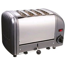 Dualit E268 4 Slot Bread Toaster Metallic charcoal finish 4 slot