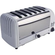 Dualit E975 6 Slot Bread Toaster White finish 6 slot