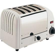 Dualit F211 4 Slot Bread Toaster White finish 4 slot