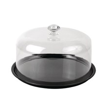 "Dalebrook Round Tray 12"" with Cover"