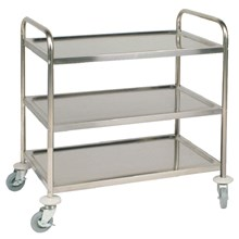 Vogue F995 3 Tier Clearing Trolley Large