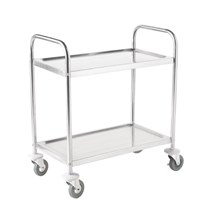 Vogue F998 2 Tier Clearing Trolley Large