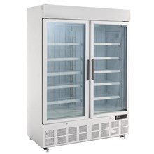 Polar GH507 Display Freezer with Light Box 920Ltr