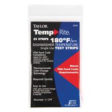 Dishwasher Temperature Test Strip (Pack of 25)