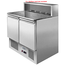 Ice-A-Cool ICE3831GR 2 Door Pizza Prep Counter