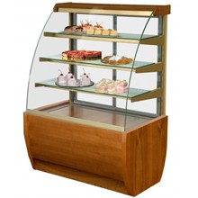 IGLOO Jamaica JA90WW Wood Refrigerated Pastry Case